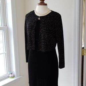 Vintage Carole Little Evening Jacket Dress